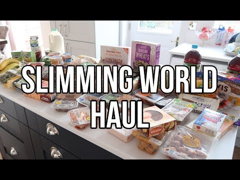 SLIMMING WORLD FOOD SHOP HAUL