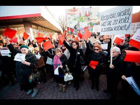 Ogólnopolski Strajk Kobiet w Pabianicach