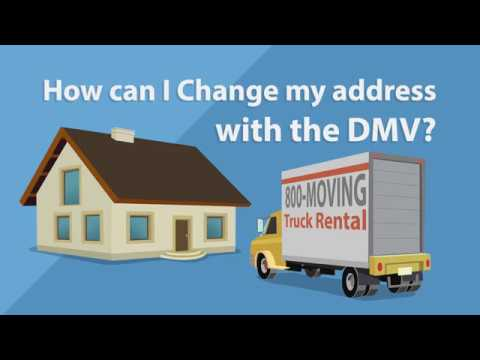 Ask DMV shows you how easy it is to change your address online
