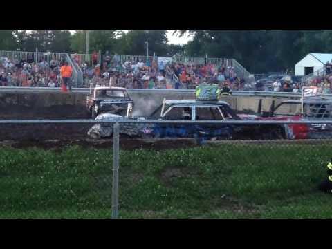 Old Iron Demo Rush City MN 2017