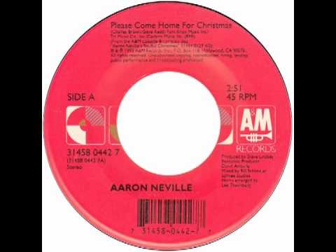 "Aaron Neville – ""Please Come Home For Christmas"" (A&M) 1993 - YouTube"
