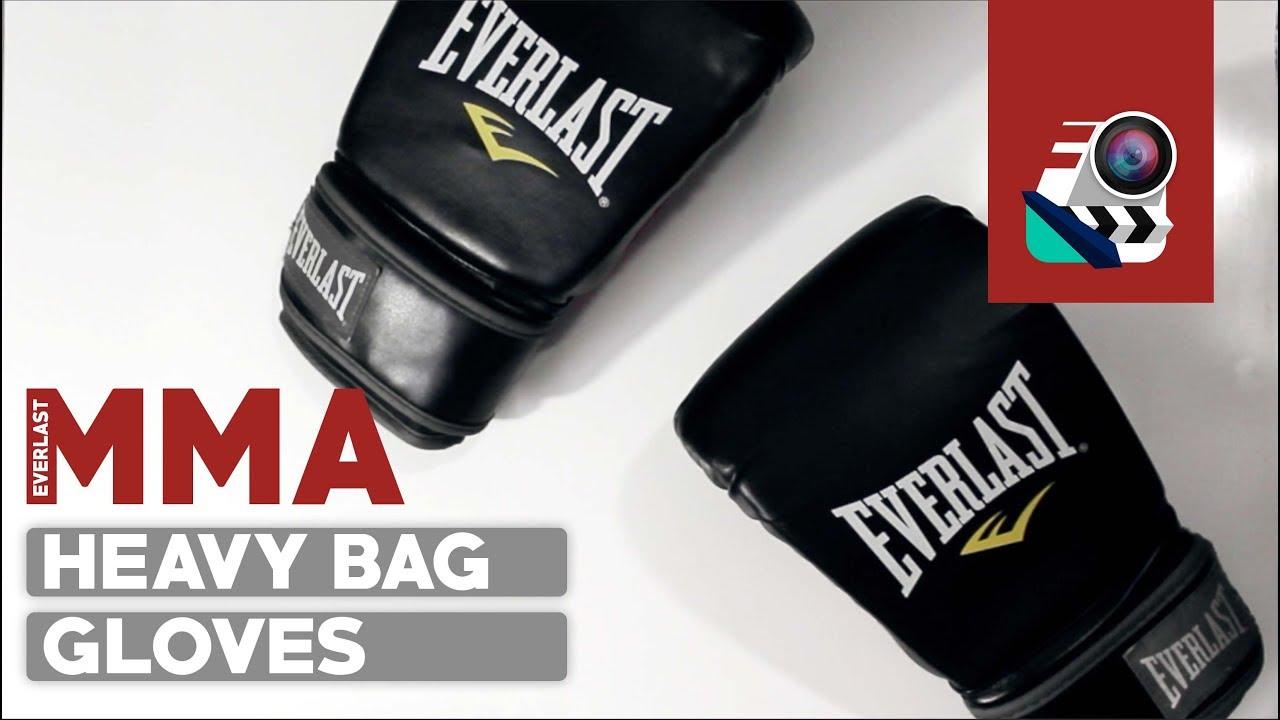 f029ed491fe Pro Boxing Gloves for  25 • Everlast MMA Heavy Bag Gloves Review ...