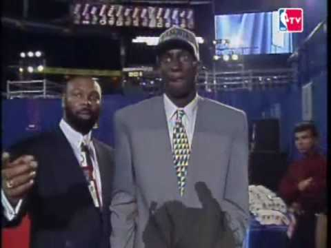 Kevin Garnett - 1995 NBA Draft, 5th Pick, Minnesota Timberwolves