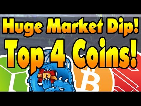 HUGE CRYPTO BUYING OPPORTUNITY! Market Dip  Top 4 Coins! Incoming Bullrun!