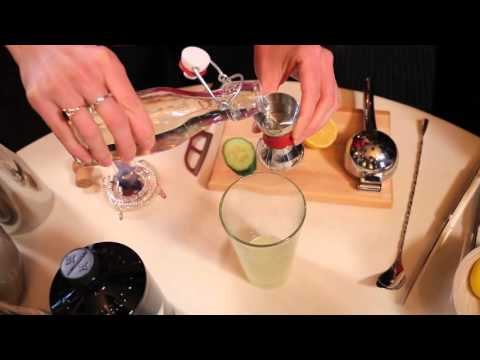 Charlotte Voisey Makes a French 75 Cocktail - Hanging with Harris 100th Episode!