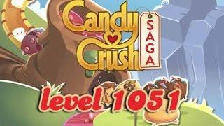 Candy Crush Saga Level 1051 - ★★★