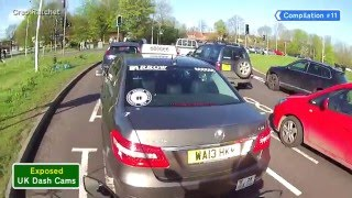 UK Dash Cams - Poor Drivers, Road Rage + Crash Compilation #11