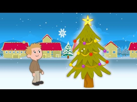 O Christmas Tree | Kids Christmas Sing-along with Lyrics!