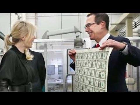 Mnuchin 'flattered' by Bond villain comparisons in money photo