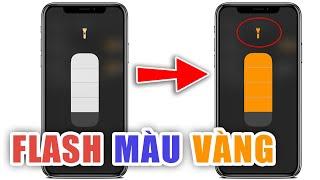 Cài đèn Flash màu vàng cho iPhone Jailbreak