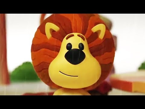 Raa Raa The Noisy Lion | Raa Raa's Rainy Day  | English Full Episodes | Cartoon For Kids🦁