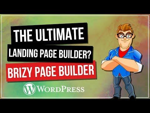 Brizy – The Best FREE WordPress Landing Page Builder?