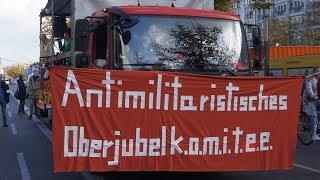 A.M.O.K.-Parade (Anti-Militaristisches-Oberjubel-K.O.M.I.T.E.E) Berlin 10.11.2019