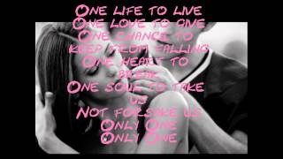 Only One- Alex Max Band ~LYRICS~
