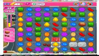Candy Crush Saga Level 30 - No Boosters  (with commentary)