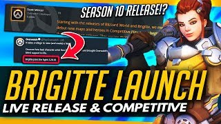 Overwatch | BRIGITTE LAUNCH DATE REVEALED - Live & Competitive!