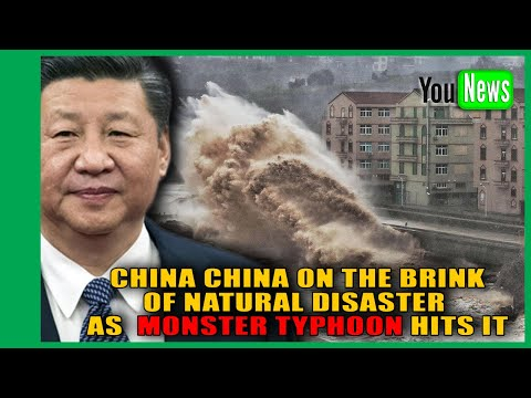 MONSTER TYPHOON HITS CHINA! China on the BRINK of natural disaster as monster typhoon forces