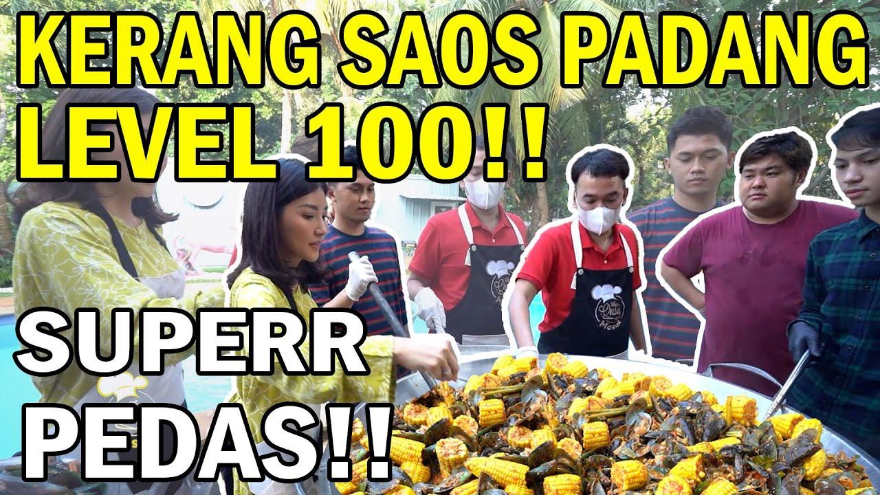 The Onsu Masak - Kerang ijo saos padang LEVEL 100!! Bikin satu rumah MENJERIT PEDASS!
