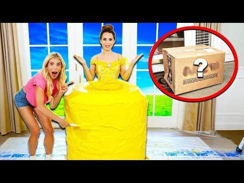 Baking WORLDS LARGEST Giant Princess Doll CAKE! (Secret Mystery Box Appears) w/ Ro Pansino