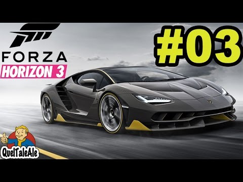 Forza Horizon 3 - Gameplay ITA [Xbox One] #03 - Nuovi bolidi da modificare