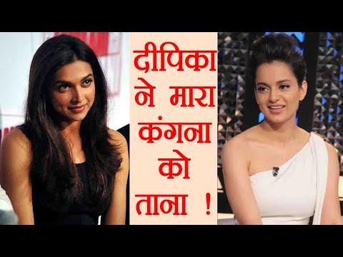 Deepika Padukone HITS BACK at Kangana Ranaut, Cold War continues | FilmiBeat