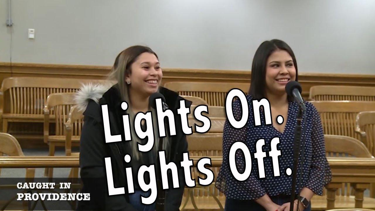 Lights On. Lights Off.