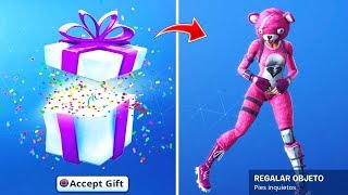 How to *REGALAR* Skins and Dances to Friends in Fortnite battle royale (Ps4, Xbox, Android and Pc)