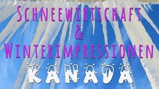 Schneewirtschaft + Winterimpressionen Kanada/Ottawa