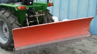 Купить Отвал задний поворотный для трактора minitrak.com.ua