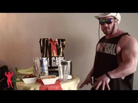Antoine Vaillant's ANABOLIC TROPIC SHAKE Recipe