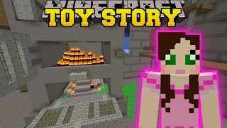 Minecraft: BASEMENT - TOY STORY - Custom Map [4]