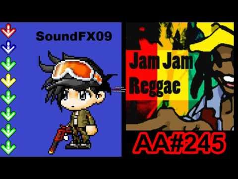 Jam Jam Reggae - HEAVY - AA#245 (Full Combo) on DDR EXTREME (AC, Japan)