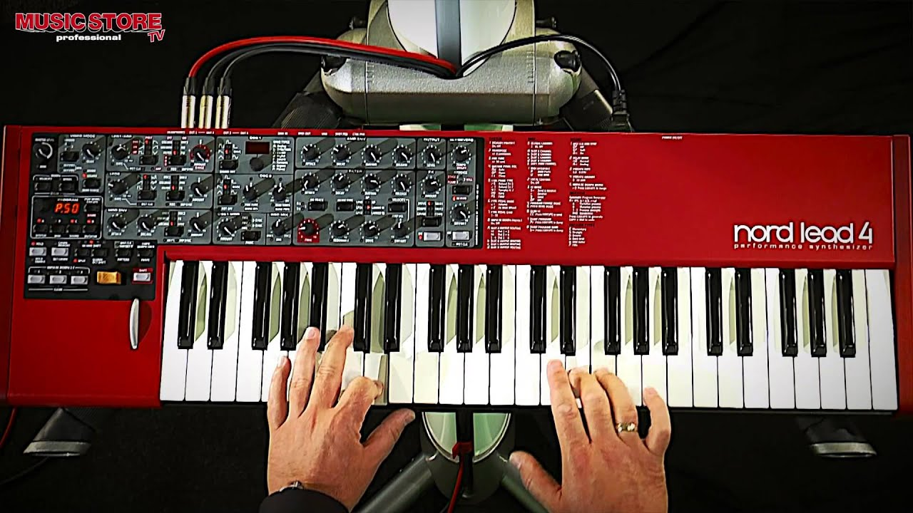clavia nord lead 4 synthesizer test demo sound youtube. Black Bedroom Furniture Sets. Home Design Ideas