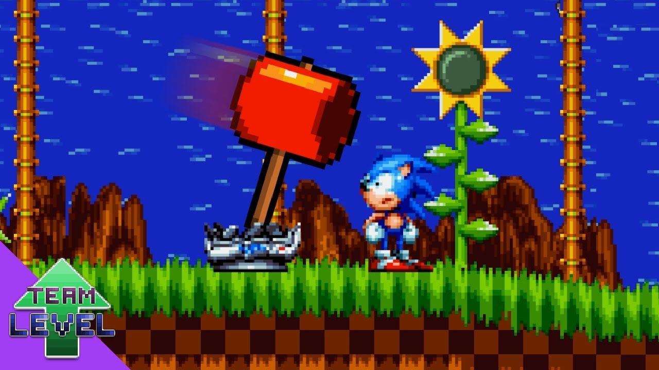 Sonic's Monitor Calamity