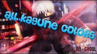 Roblox Ro-Ghoul Quasi tutti i colori Kagune
