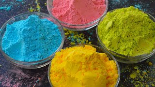 HOMEMADE HOLI COLORS | ECO FRIENDLY HOLI COLORS | SAFE HOLI COLORS | DIY holi colors | holi colours