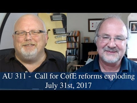 Anglican Unscripted #311 - Call for CofE reforms exploding