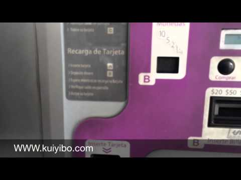 Tarjeta de metrobus invalidating