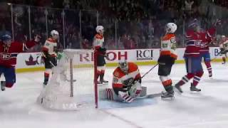 Phillip Danault 4-2 Goal - Flyers @ Canadiens - 11.5.2016 - HD