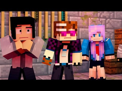 THE PURGE | Minecraft Animated Funny Moments!