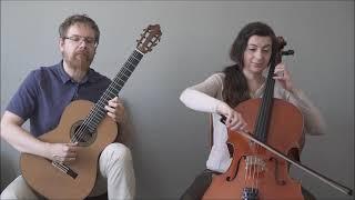 Dusan Bogdanovic - Deep Voices: 2nd mvt. Allegro funky - Cello Guitar Duet Duo Vitare