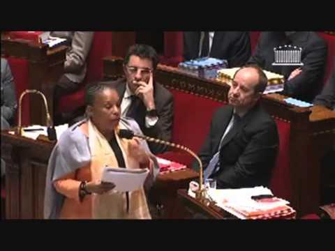 Christiane Taubira best-of mariage pour tous - part1