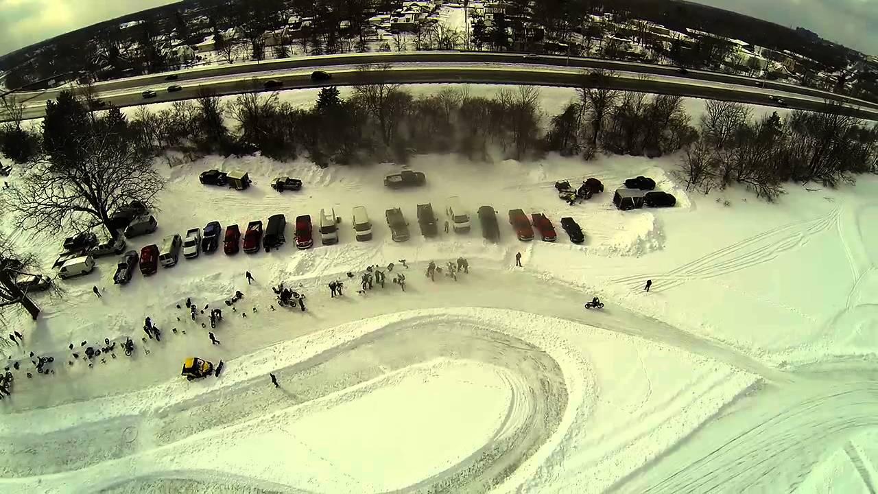 2 16 2014 Thread Lake In Flint Michigan No Music Youtube