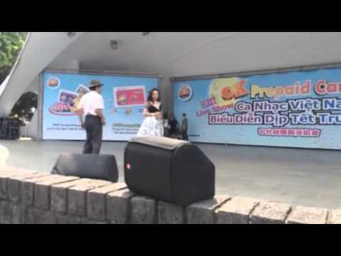 Hoang chau va truong Giang biểu dien tai dai loan