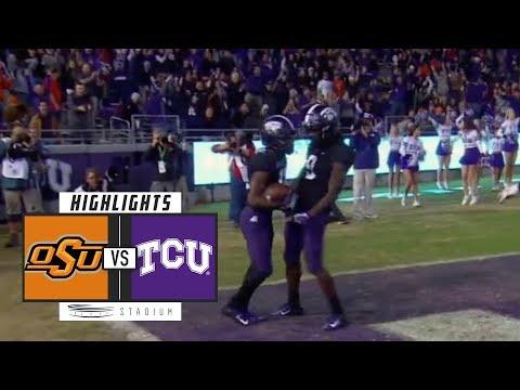 Oklahoma State vs. TCU Football Highlights (2018) | Stadium