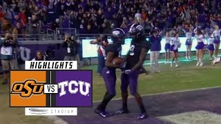 Oklahoma State vs. TCU Football Highlights (2018) | Stadium