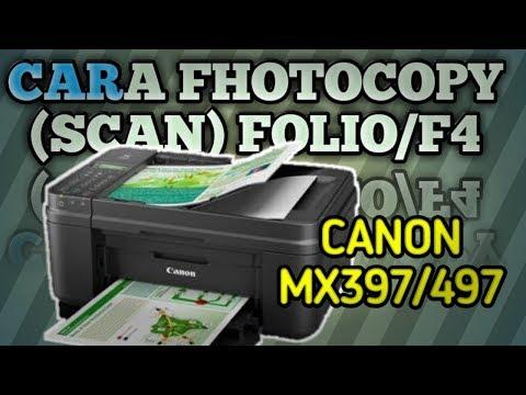 cara-fhotocopy-(scan)-kertas-folio-(f4)-di-printer-canon-mx497