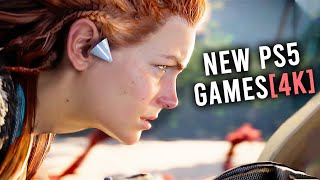 Top 15 New Ps5 Games From Sony Event  4k Video