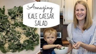 Best Kale Caesar Salad!