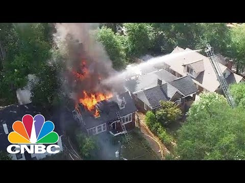 How Firefighters Are Using Drones As First Responders To Save Lives | CNBC